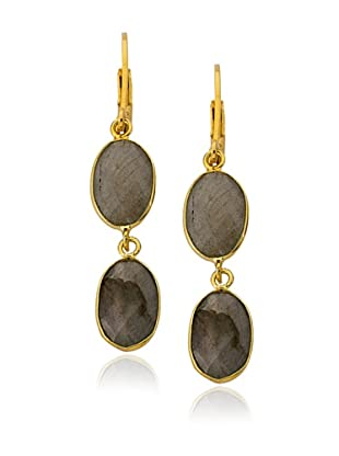 Riccova Double Labradorite Dangle Earrings