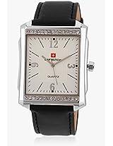 10002 Black/Silver Analog Watch Baywatch