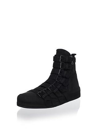 Ann Demeulemeester Women's Buckle Sneaker (Ingrassato Nero)