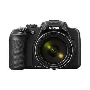 Nikon Coolpix P600 16.1MP Digital Camera - Black