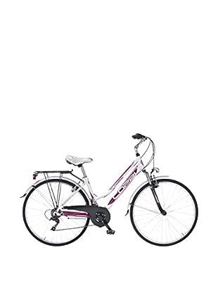 Linea Fausto Coppi Fahrrad Man Rambling weiß/purpur