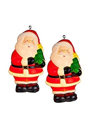 Kurt Adler Set of 4 Santa 6