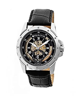 Heritor Automatic Uhr Armstrong Herhr3402 schwarz 48  mm