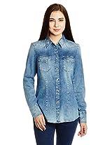 Gas Women's Button Down Shirt
