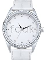 FCUK Analog White Dial Women's Watch - FC1012W