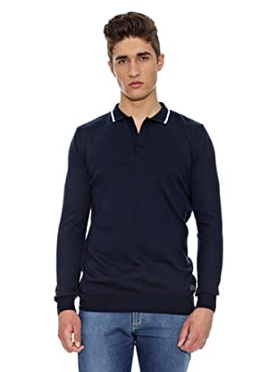 Carrera Jeans Polo Algodón (Azul)