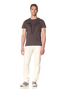 Tee Library Men's Der Freischutz Crew Neck T-Shirt (Grey)