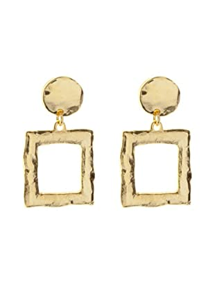 Silver One Pendientes Infinity Square