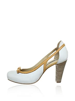 Manas Zapatos Lazo (Blanco / Beige)