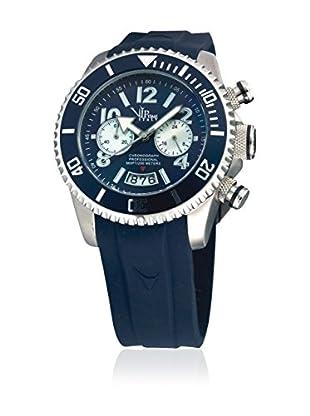 Vip Time Italy Uhr mit Japanischem Quarzuhrwerk VP8026BL_BL blau 43.00  mm