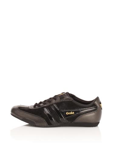Gola Women's Ace Sneaker (Black)