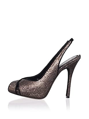 Jean-Michel Cazabat Women's Oriana Open-Toe Pump
