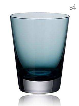 Villeroy & Boch Set 4 Vasos Colour Concept (Azul)