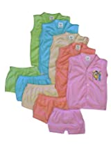 Cool Baby Set of 5 Vest And Matching Shorts