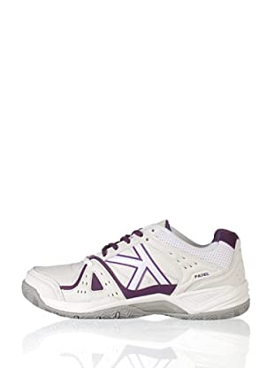 Kelme Zapatillas Amazon Pádel (Blanco / Morado)
