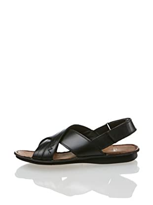 Clarks Leder Sandale Vieri Sun (Schwarz)