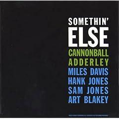 blue note 1595「Somethin' Else/サムシン・エルス」 Cannonball Adderley/キャノンボール・アダレイ