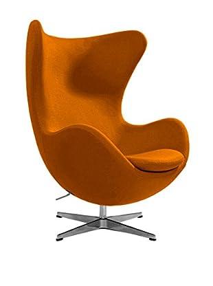 Euro Home Collection Columbia Chair, Orange