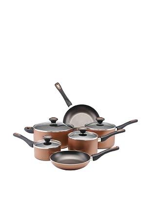 Farberware High Performance Nonstick 10-Piece Cooware Set (Copper)