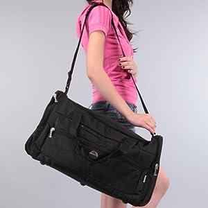 President Unisex Duffel Bags-Black