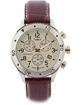 Timex Analog Watch-For Men-Brown-T2M705