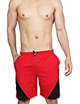 Clifton Mens Shorts Dark red(XXL)