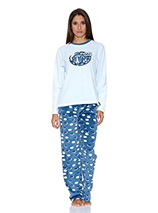 Bluedreams Pijama Tundosado (Celeste)