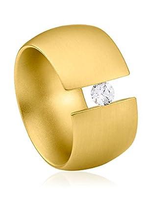 steel art Ring Elegantia