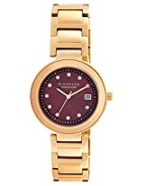 Giordano Analog Brown Dial Women's Watch - P280-33