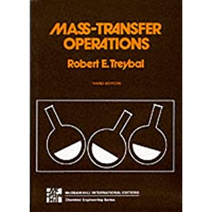 Mass Transfer Operations (McGraw-Hill Classic Textbook Reissue Series)
