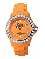 Colori Analog Orange Dial Women's Watch - 5-COL110