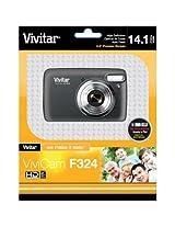 VivitarViviCam F324 Digital Camera (Black)