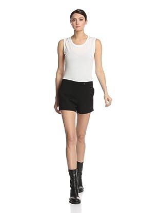 Ann Demeulemeester Women's Wovi Short (Black)