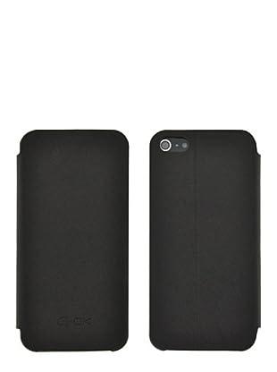 Blautel iPhone 5 Funda 4-Ok Stand Negro