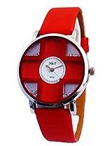 A Avon Analog Designer White Dial Women's Watch - 1001786
