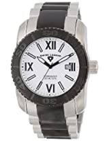 Swiss Legend Men's 10059-SB-22 Commander Collection Black Ion-Plated and Silver-Tone Watch