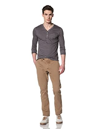 French Connection Men's Heavy Machine Gun Overdye Pant (Old Camel)