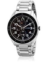 Ap4010-54E Silver/Black Analog Watch CITIZEN