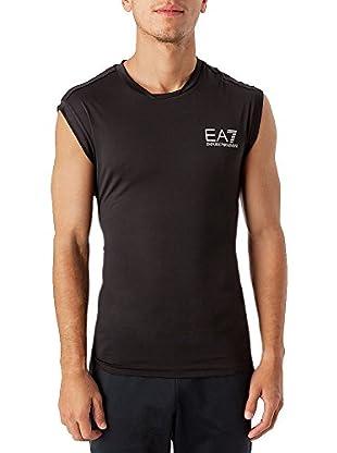 Emporio Armani 7 Camiseta Olbia (Negro)