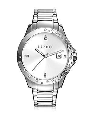 Esprit Reloj con movimiento japonés Woman Plateado 38 mm