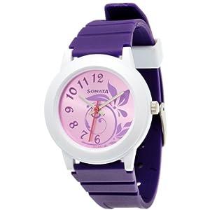 Sonata Fashion Fibre Analog Pink Dial Women's Watch - NF8992PP03J