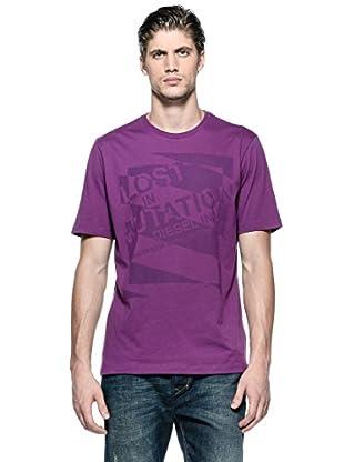 Diesel Camiseta T-Alabarda-R (Morado)