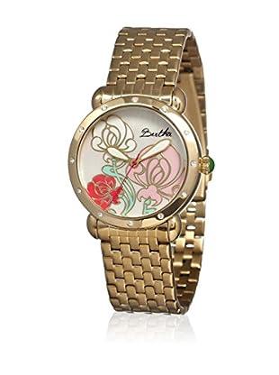 Bertha Uhr mit Japanischem Quarzuhrwerk Josephine goldfarben 41 mm