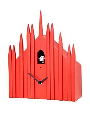 Diamantini & Domeniconi Reloj de Cuco Duomo Rojo