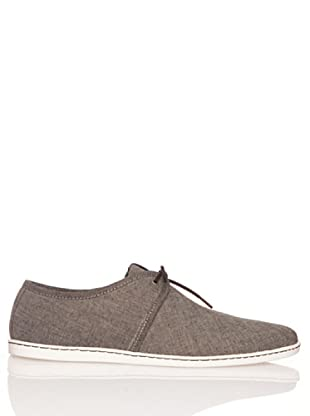 Fred Perry Deportiva Aldwych Chambray (Negro)
