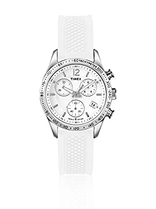TIMEX Reloj de cuarzo Woman Chronograph Blanco 36 mm
