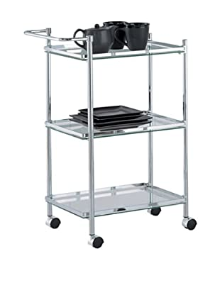 Organize It All Rectangular Serving Cart