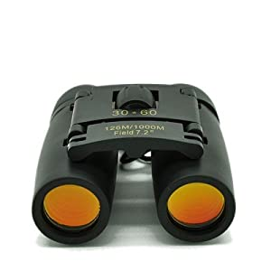 Day and Night Vision Binoculars with Coated Orange Lens