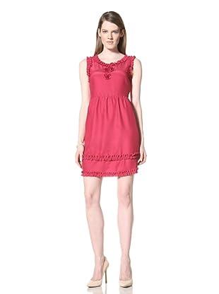 Miss Sixty Women's Penelope Dress (Magenta)