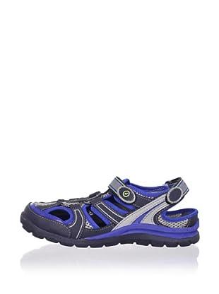 Stride Rite Kid's Brady Washable Sandal (Toddler/Little Kid) (Royal/Grey)